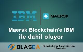Maersk blockchain'e IBM ile dahil oldu