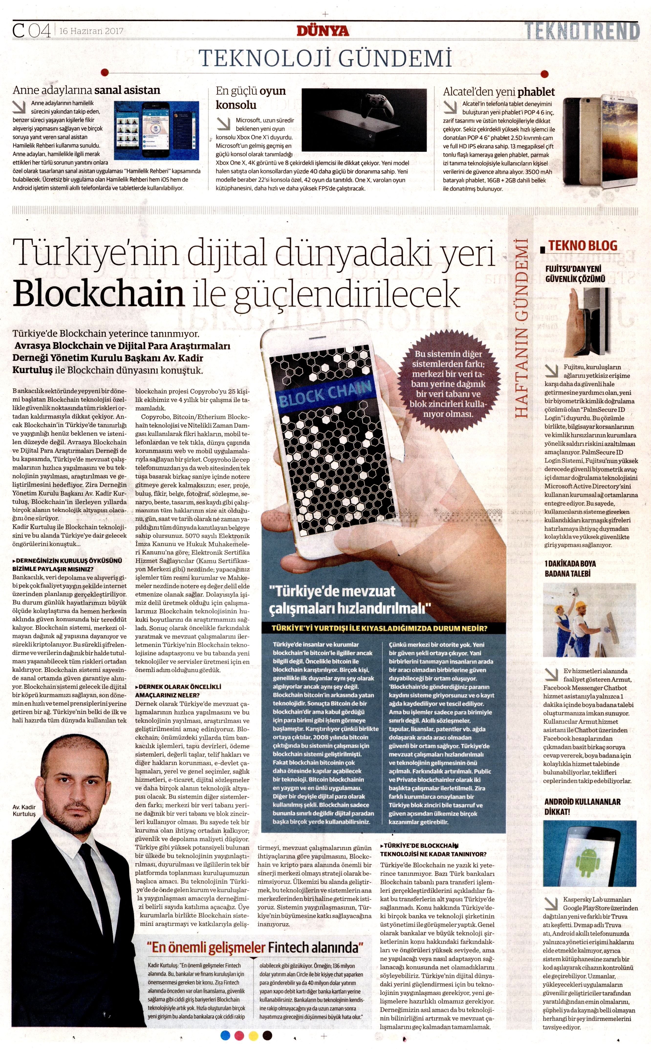 Türkiye dijital dünyadaki yerini Blockchain ile güçlendirecek